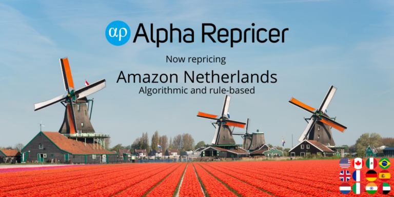 Amazon Netherlands now repriced by Alpha Repricer