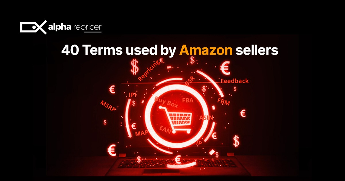 40 terms used by Amazon sellers
