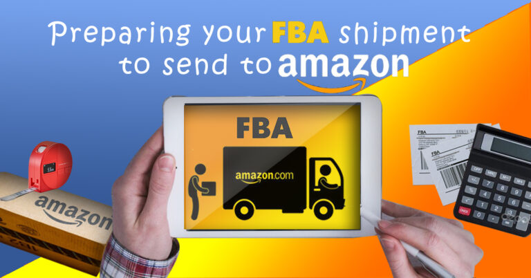 Prepare your FBA Shipment for Amazon Warehouse