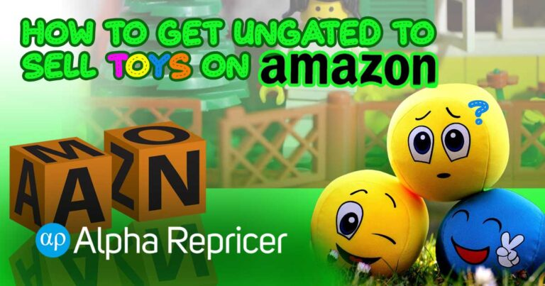 How to Get Ungated to sell toys on Amazon