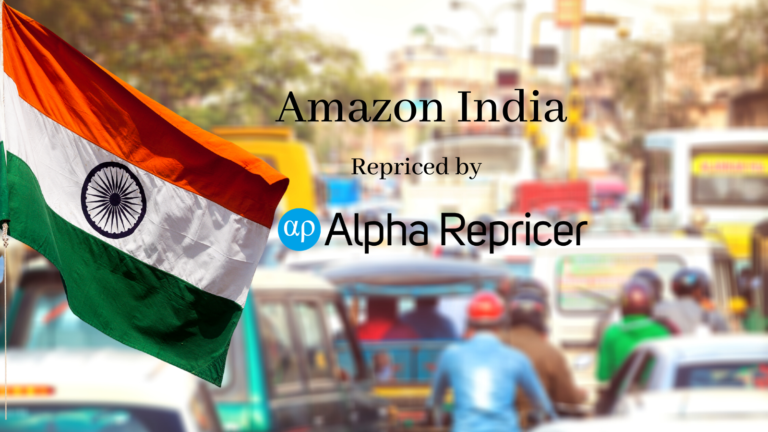 Amazon India: Alpha Repricer is now Repricing India!