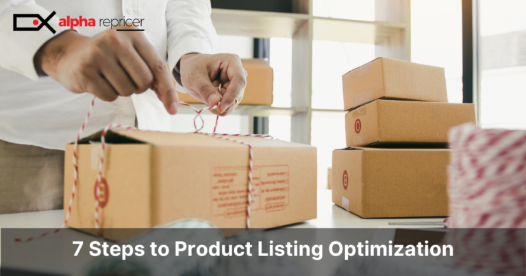 7 Steps to Product Listing Optimization