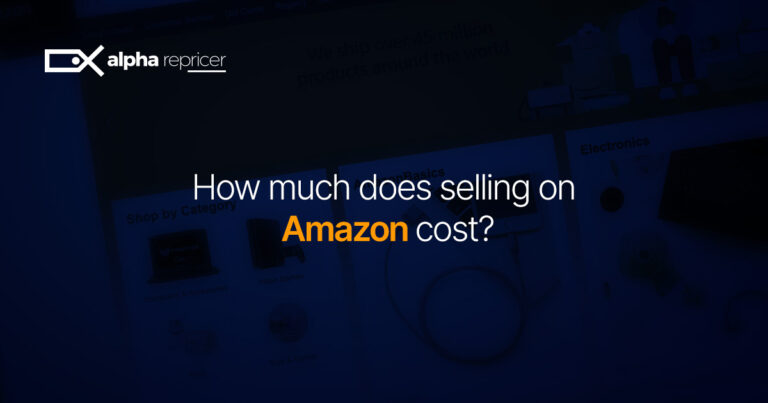 How Much Does Selling On Amazon Cost?