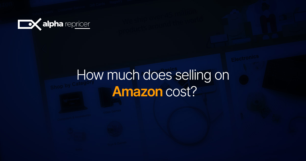 How Much Does Selling On Amazon Cost