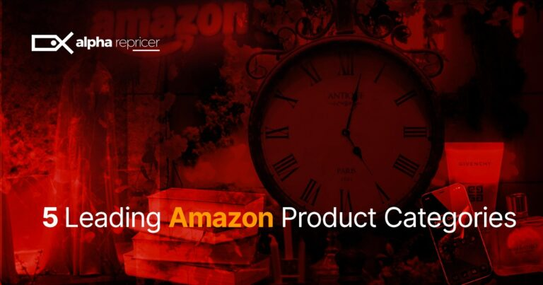 5 Leading Amazon Product Categories