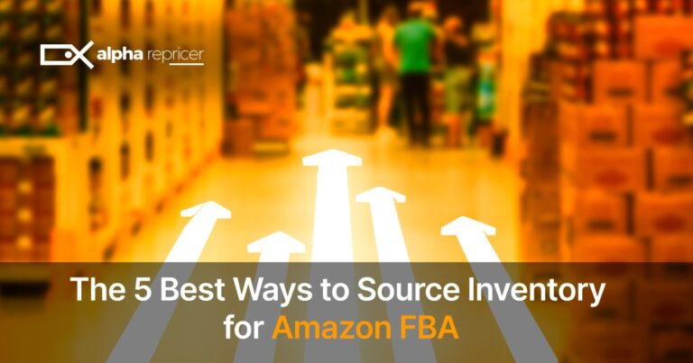 The 5 Best Ways to Source Inventory on Amazon FBA