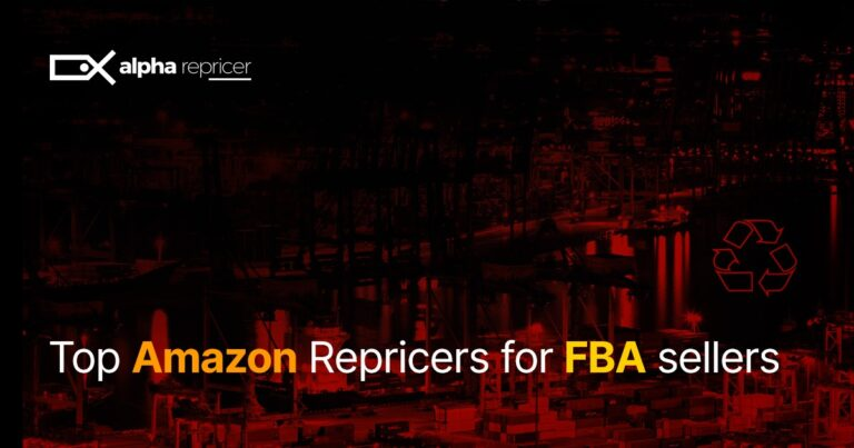 Top Amazon Repricers for FBA sellers