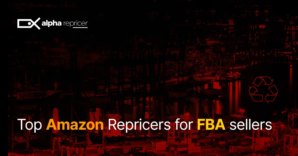 Top Amazon repricers for Amazon FBA