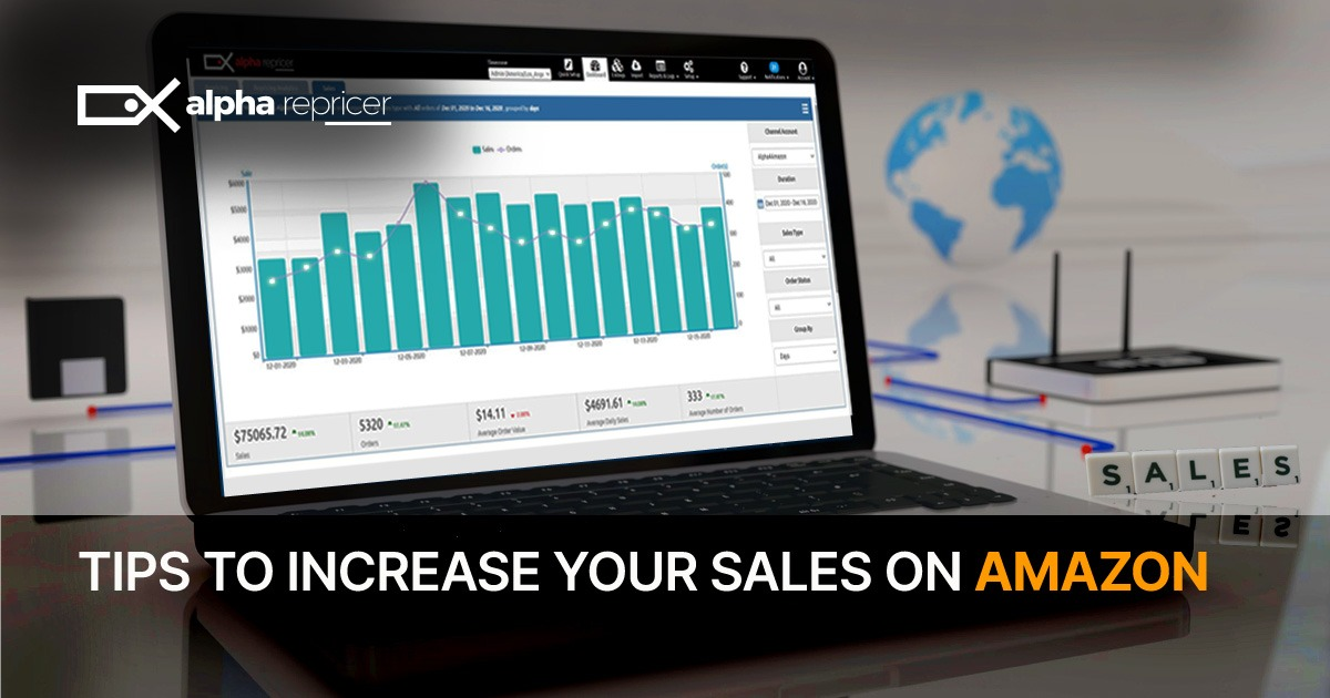 tips to increase your sales on Amazon