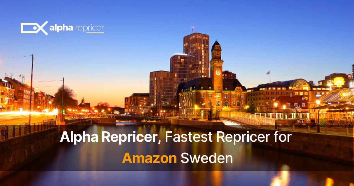 Alpha Repricer the fastest Amazon Repricer in Sweden