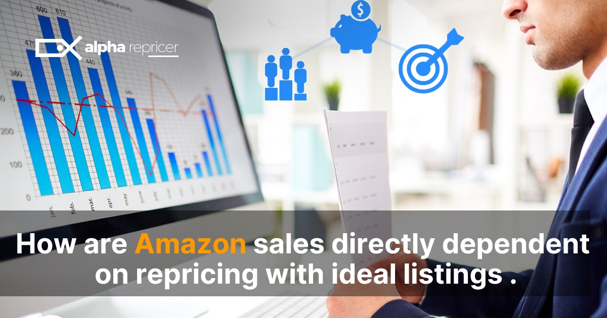 Amazon sales directly related to repricing