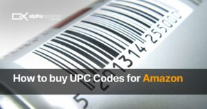 How to buy UPC codes for Amazon