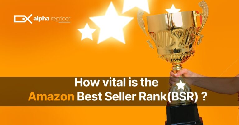 How vital is the Amazon Best Seller Rank (BSR)?