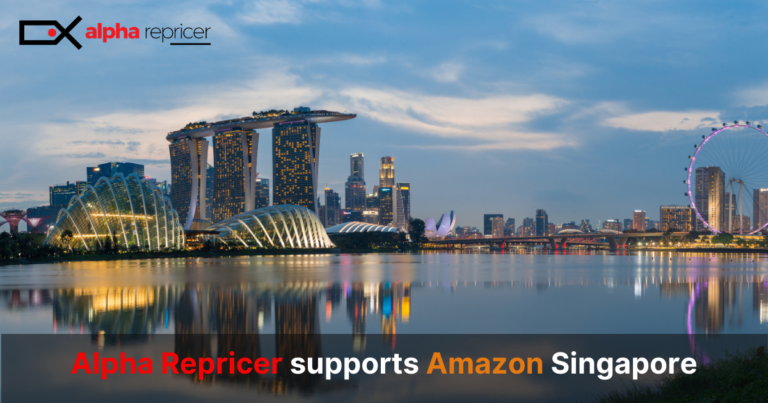 Alpha Repricer Supports Amazon Singapore