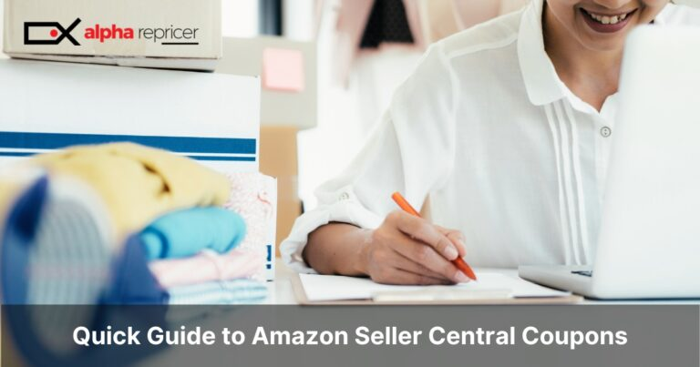 Quick Guide to Amazon Seller Central Coupons