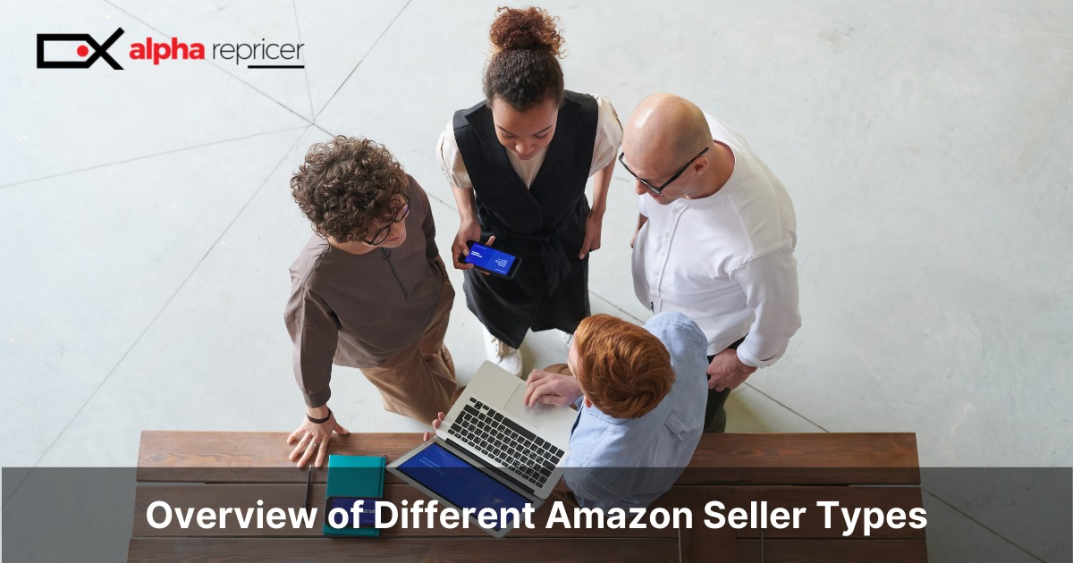 overview of different Amazon seller types