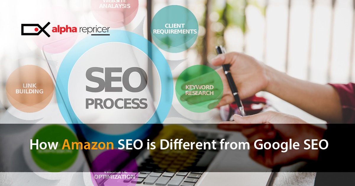 how is Amazon SEO different from Google SEO